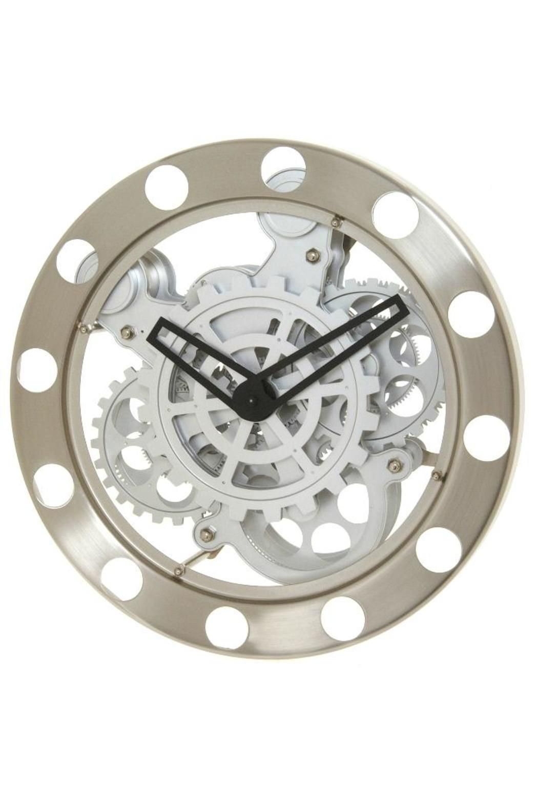 This Impressive Wall Clock With Large, Visible Moving Gears Is A Favorite  Of Engineers,