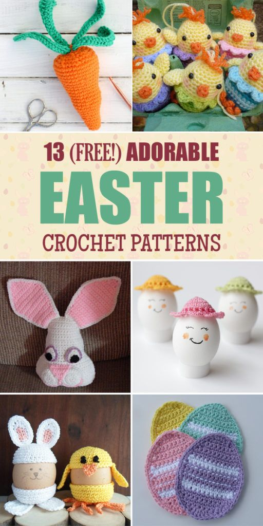 Top 10 Free Easter Crochet Patterns For You To Try This Easter