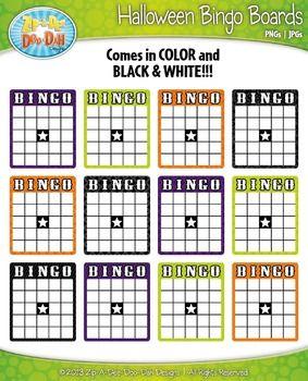 Bingo Card Clip Art