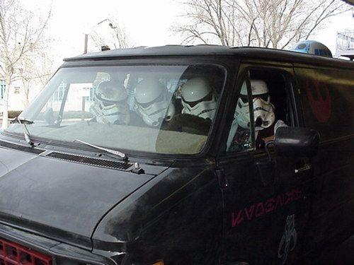Creepy troopers