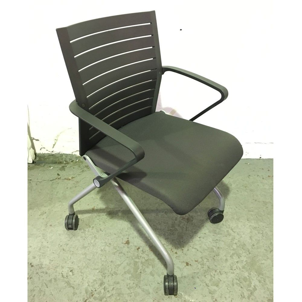 Second Hand Steelcase Folding Conference Chair Next Day Delivery Foldable For Economical Storage Chairsoffice