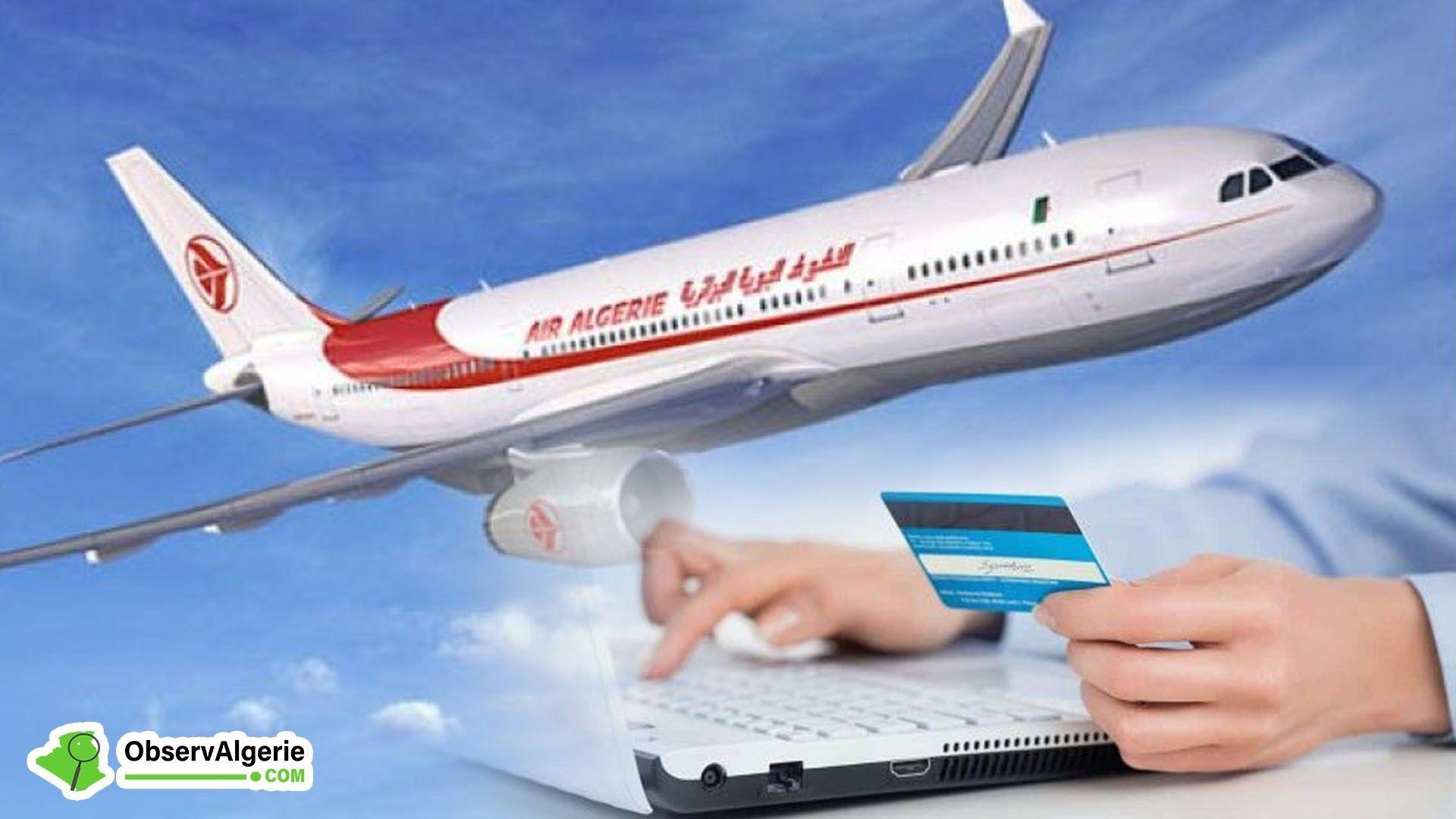 Air Algérie lance le paiement en ligne par carte interbancaire | Air algerie, Compagnie aérienne ...