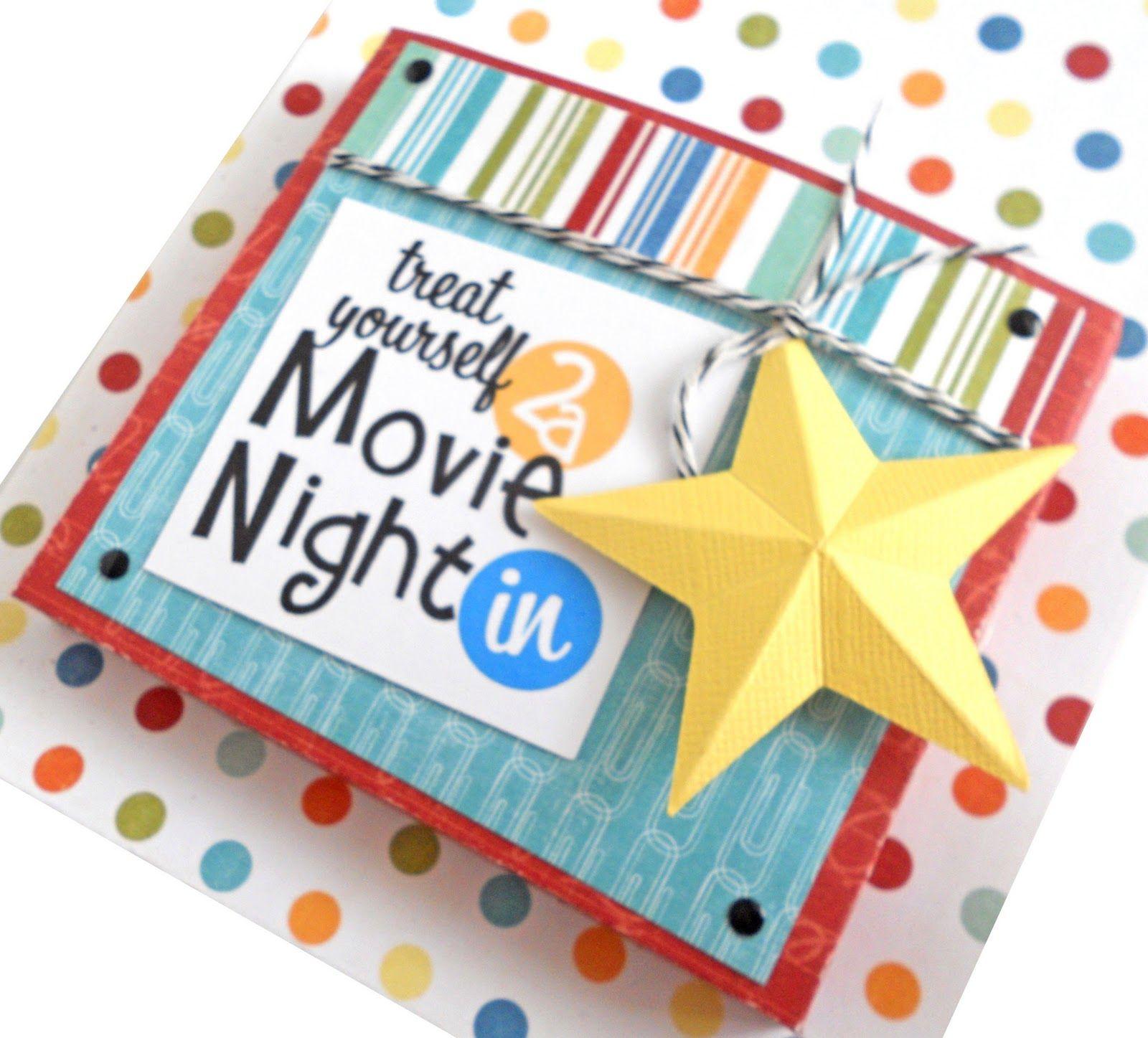 Creative Gift Wrap Idea Movie Night DVD Wrap Tutorial