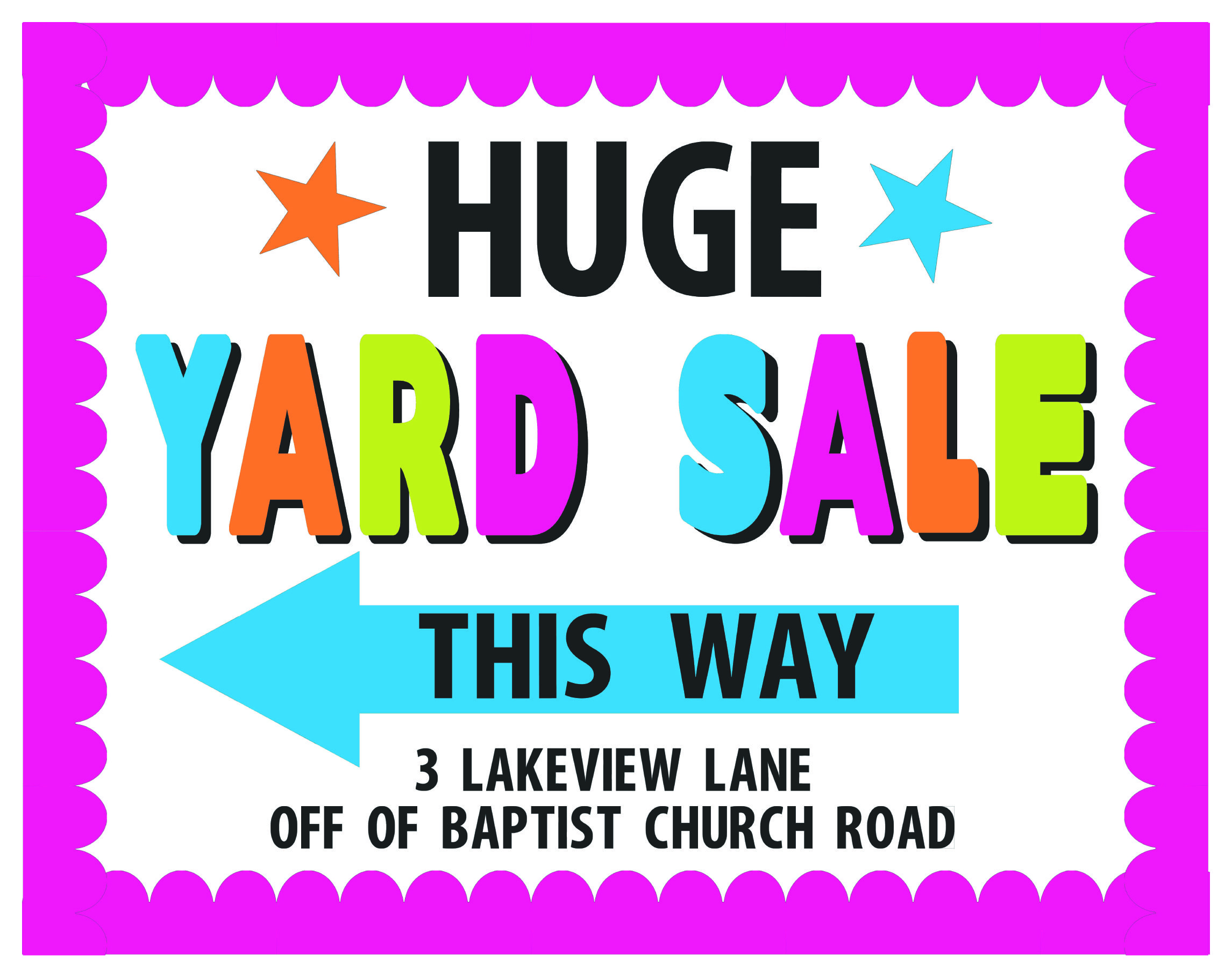 Yard sale poster ideas images for Poster prints for sale