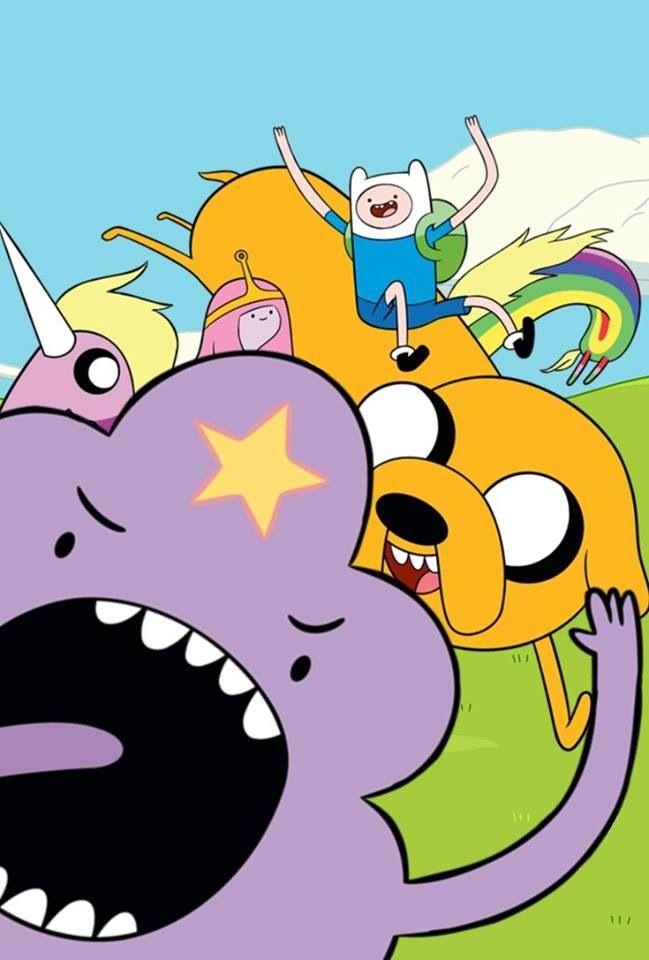 Lumpy Space Princess, Jake, Finn, PB, and Lady Rainicorn | adventure ...