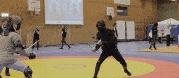 A fight from Swordfish 2015, with me in the black.