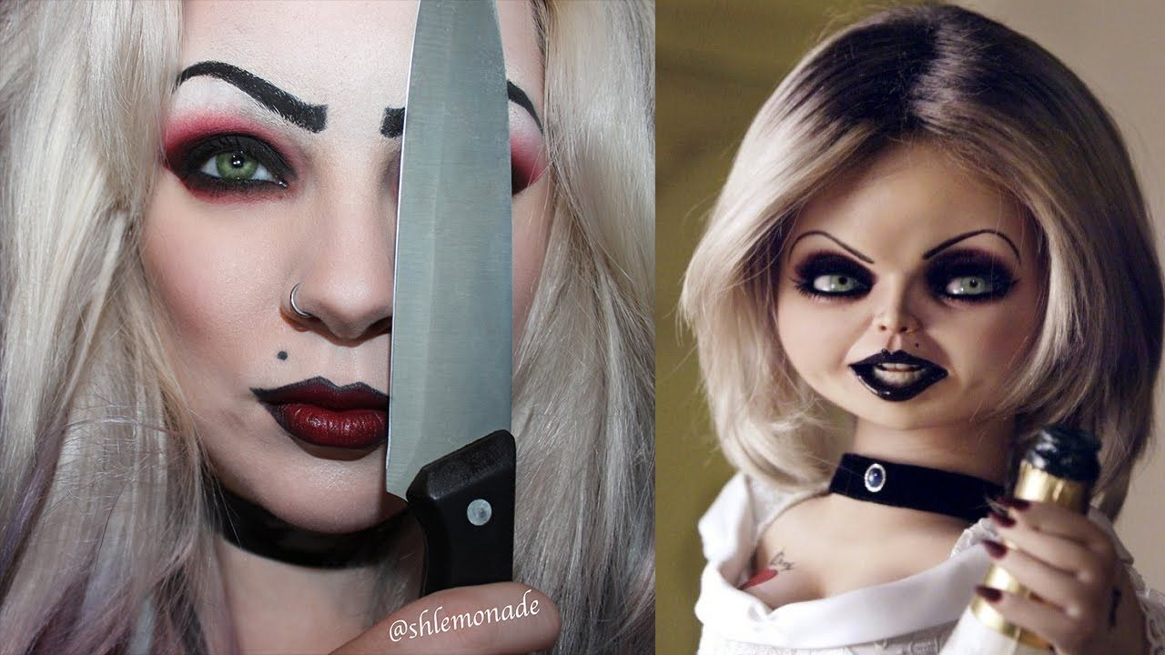 Halloween bride of chucky tiffany makeup tutorial shlemonade halloween bride of chucky tiffany makeup tutorial shlemonade baditri Gallery