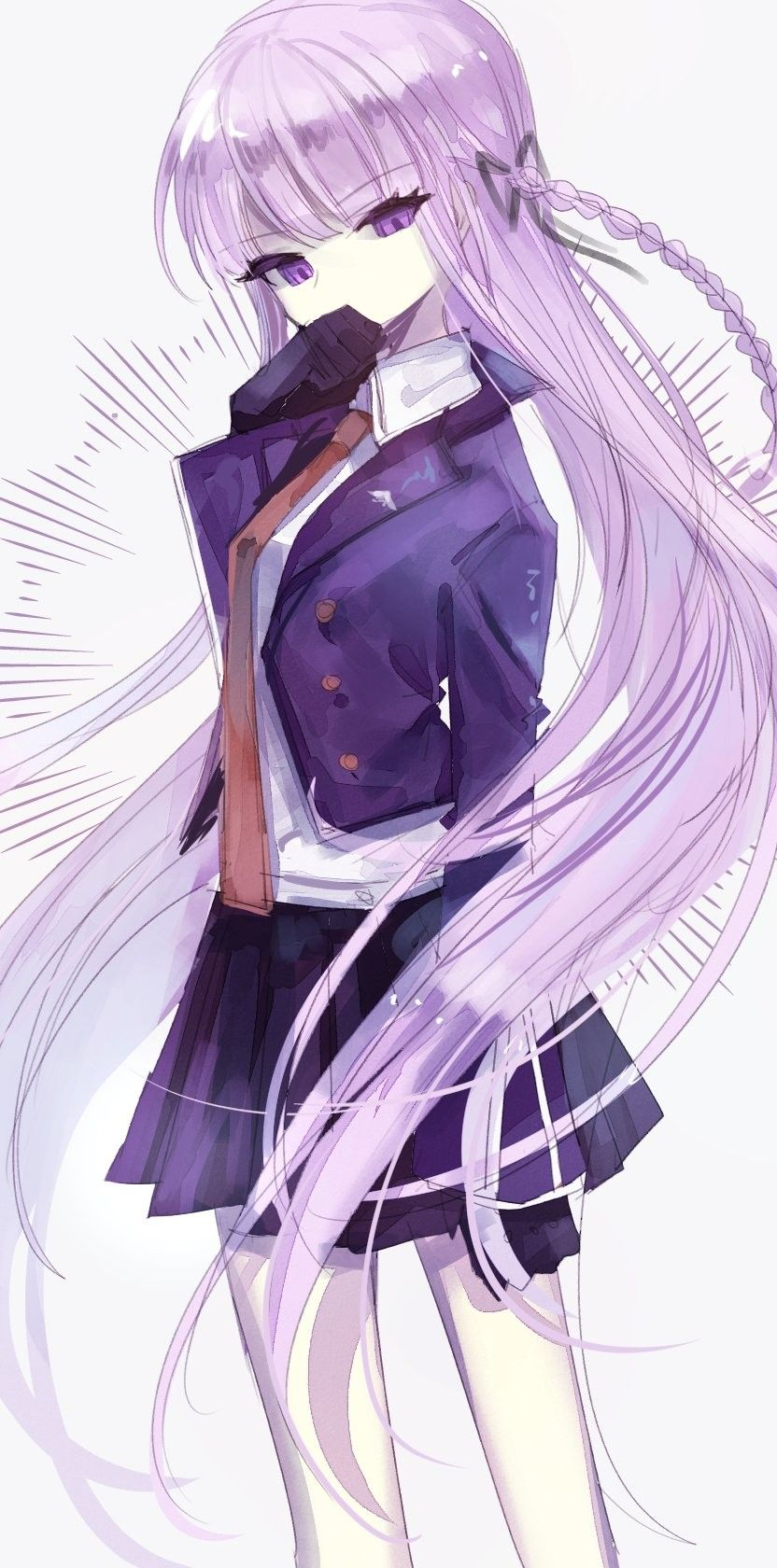 Kyoko Kirigiri by 37_v3 Персонажи аниме, Аниме