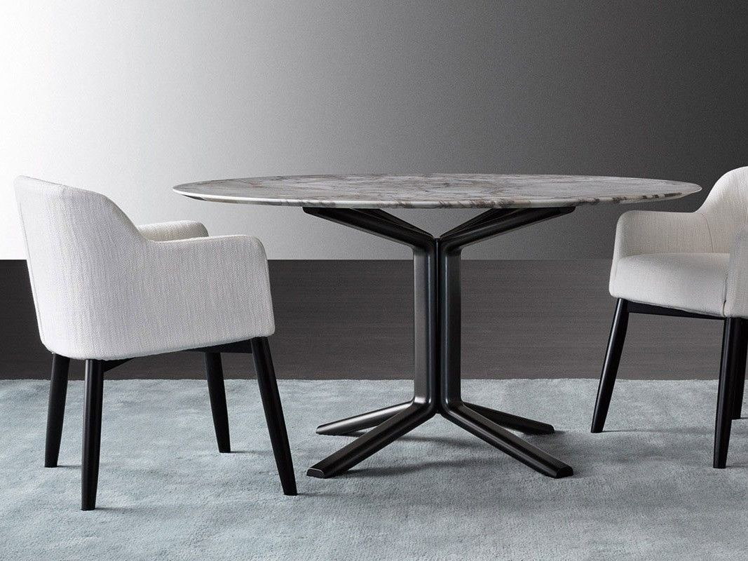 Round Marble Table Miller Marble Table By Meridiani