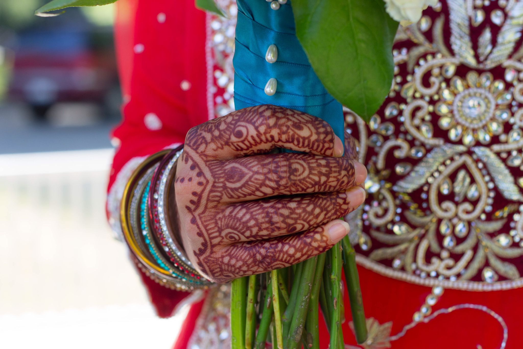 Hidden Mickey in Disney themed Desi (Indian, Pakistani, Fijian) American wedding
