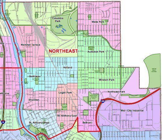 Minneapolis Northeast Community maps Pinterest Minneapolis