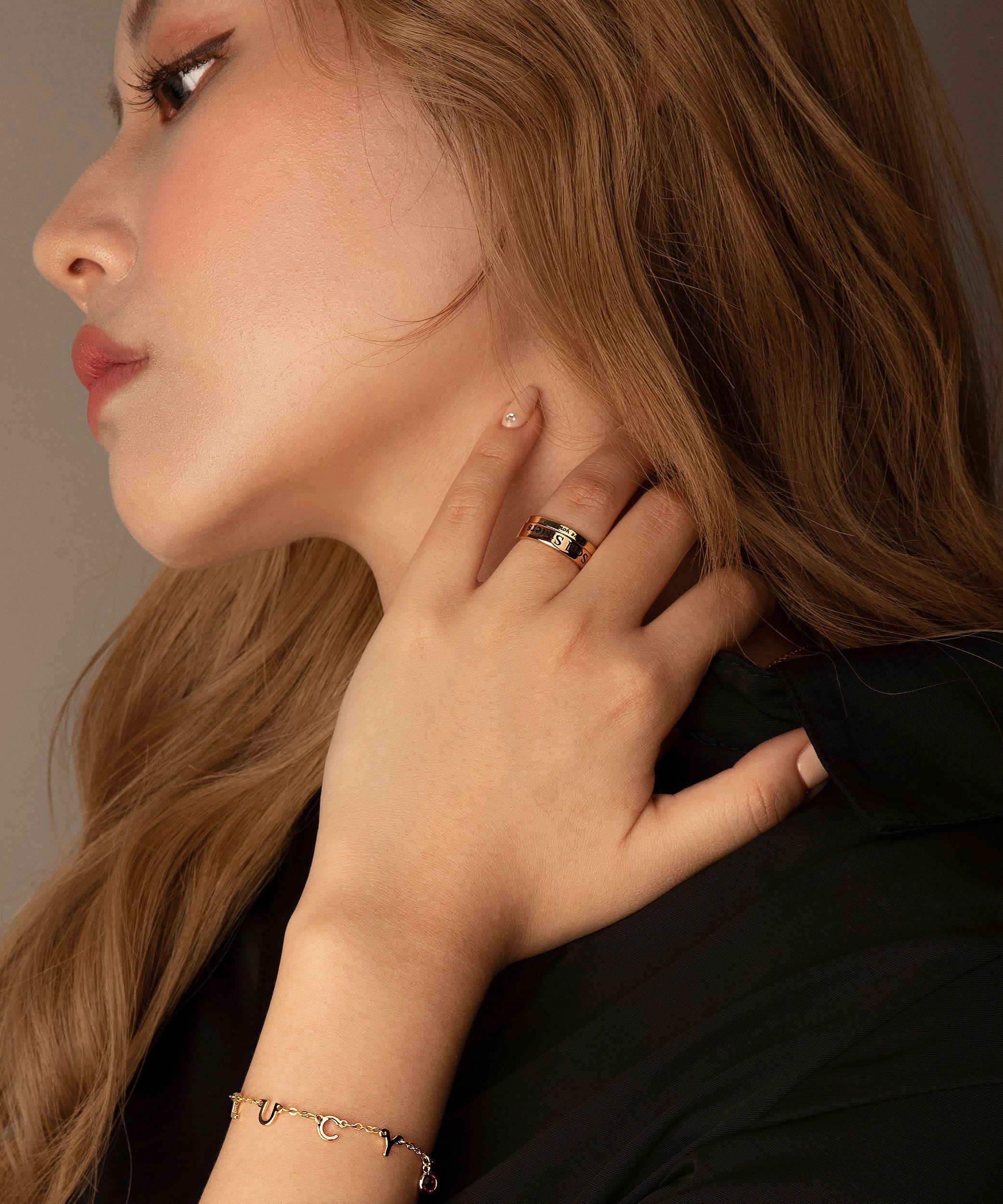 Ring For Women In 2020 Friend Rings Coordinate Rings Engraved Rings