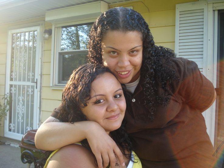 Latina Lesbian Couple