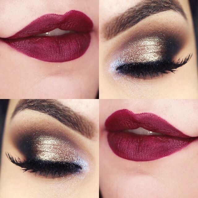 Amaazing Makeup Ideas To Do On Christmas❤️