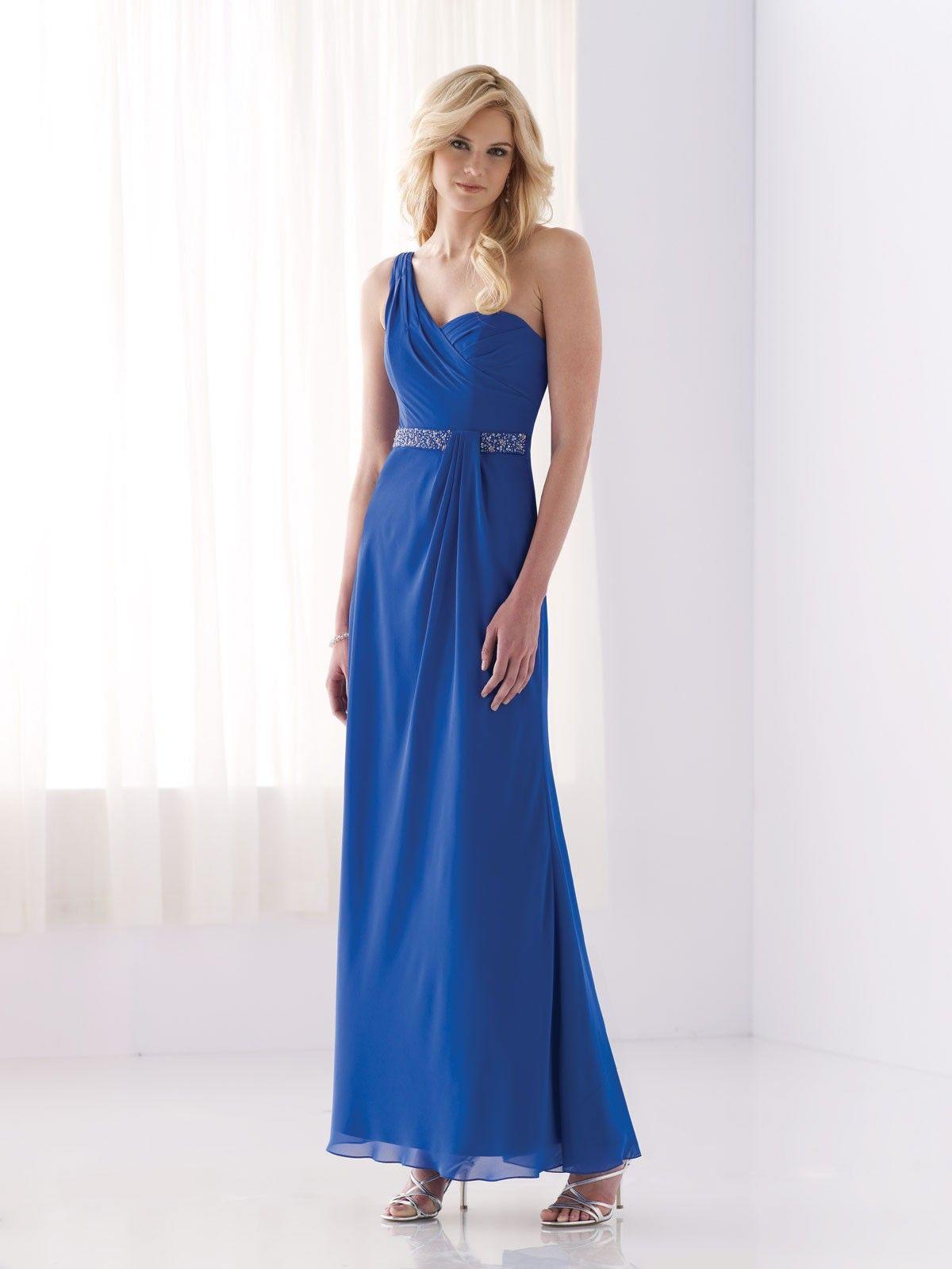 bridesmaid dresses one shoulder strap