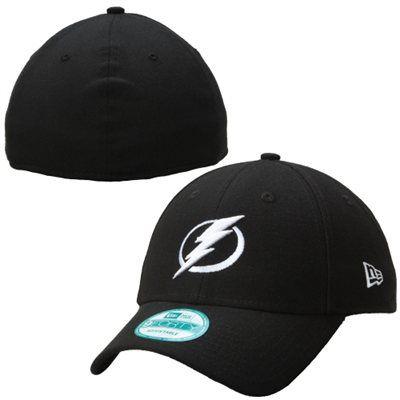 more photos 9b344 16127 Men s Tampa Bay Lightning New Era Black 39THIRTY Flex Hat