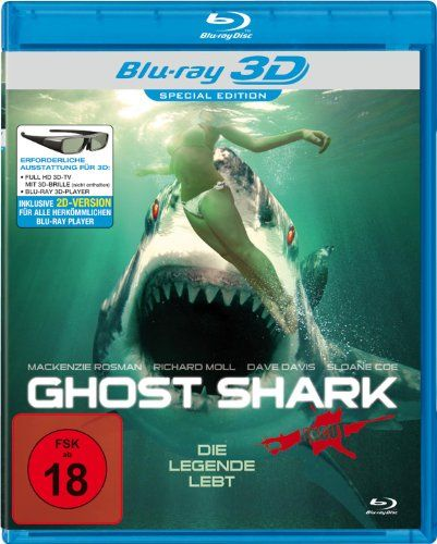 Ghost Shark 3d Vers Blu Ray Fsk 18 3 B Movie Film I Movie