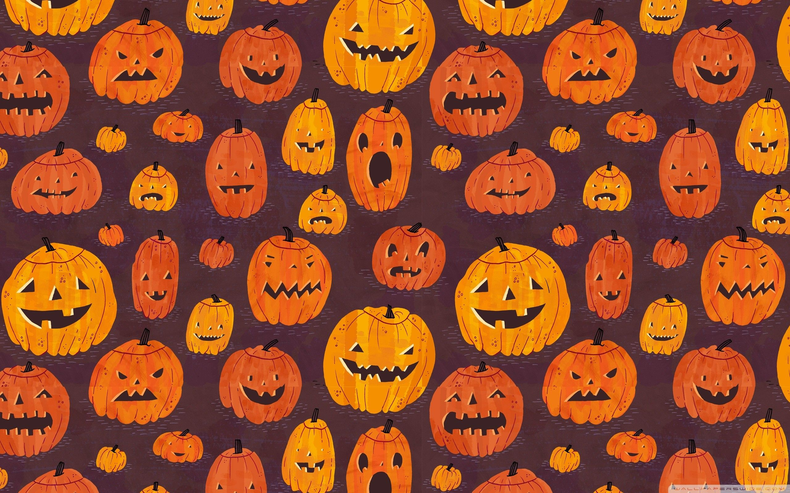 Cute Halloween Desktop Wallpaper 2560x1600 Ipad Pro Halloween Desktop Wallpaper Pumpkin Wallpaper Halloween Patterns