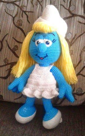 Amigurumi Smurfette - FREE Crochet Pattern / Tutorial | Crochet ...