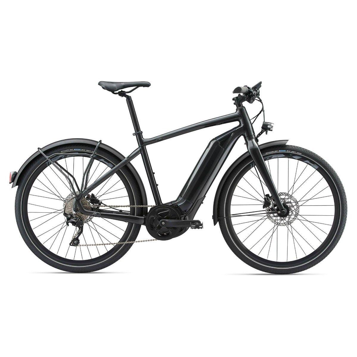 Giant QuickE Plus 2018 Electric Hybrid Bike Black