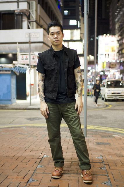 Scenestyle Alexander Mcqueen And Tattoos In Hong Kong