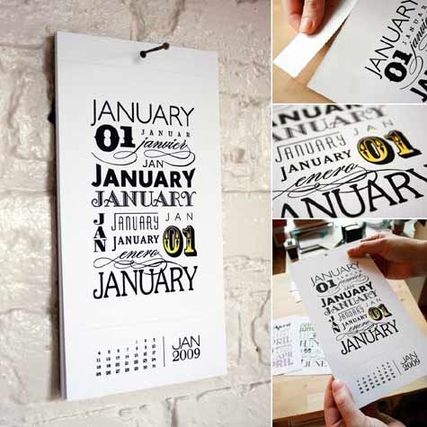 Calendar Calendar Design Beautiful Calendar Design Typography