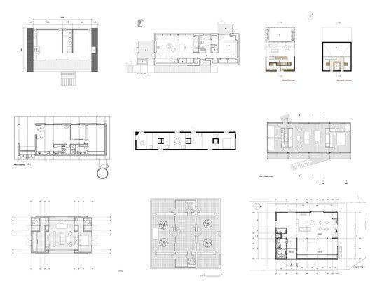 Casas de menos de 100 m2 30 ejemplos en planta Pinterest Square - maison de 100m2 plan