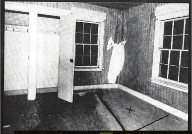 X marks the spot where Albert Fish killed Grace Budd