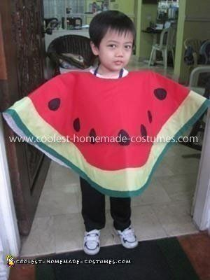Cool Watermelon Costume Watermelon costume, Homemade costumes and - homemade halloween costume ideas for women
