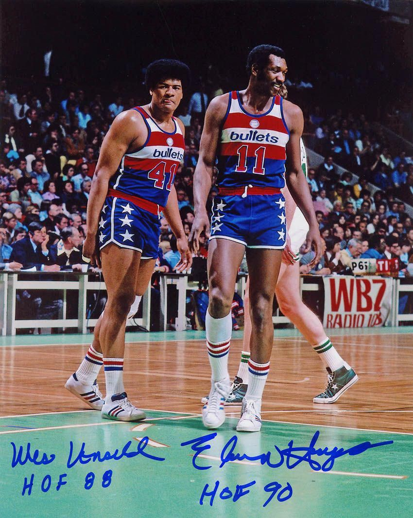 Had the pleasure of playing pick up game with Elvin Hayes