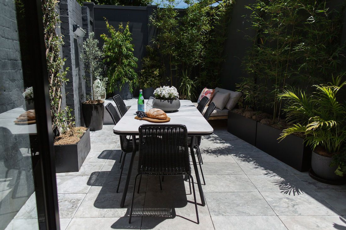 Courtyard before and after: Making the most of a 25sqm space