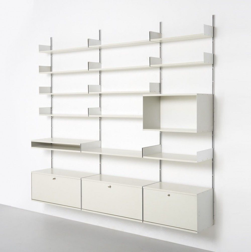 For Sale Vitsoe Wall System By Dieter Rams 1960 S 86760 Wall Shelving Systems Wall Systems Dieter Rams Design
