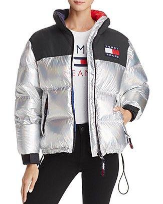 Tommy Hilfiger '90s Down Navy Puffer Jacket | Daunen jacke