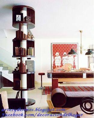 Como aprovechar las columnas de los ambientes by - Columnas decoracion interiores ...