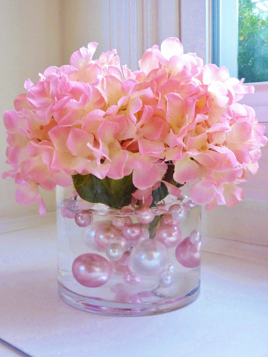 Amazon unique vase fillers 80pc value pack jumbo light amazon unique vase fillers 80pc value pack jumbo light pink pearls reviewsmspy