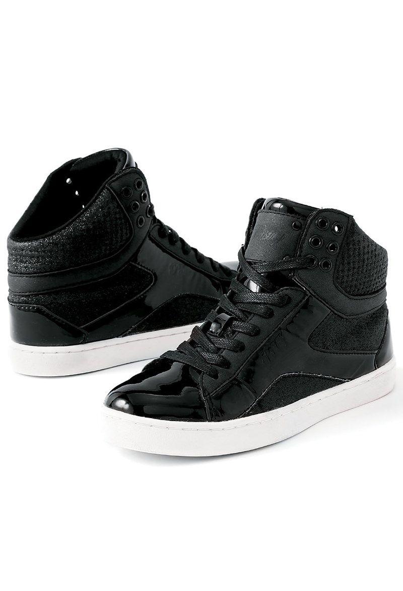 Pop Tart Glitter Hip-Hop Dance Sneakers