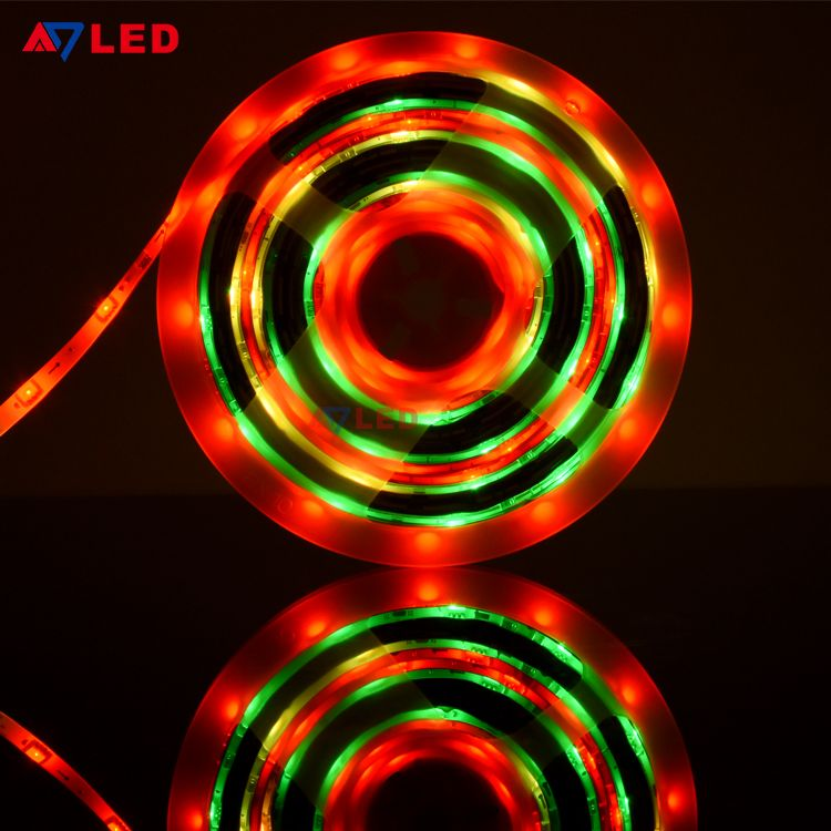 Remote Control Wifi Digital Pixel Cinta Fita Tira Luces Striscia Stripe Tape Led Strip Lights Kit 5m In 2020 Rgb Led Strip Lights Led Strip Lighting Strip Lighting