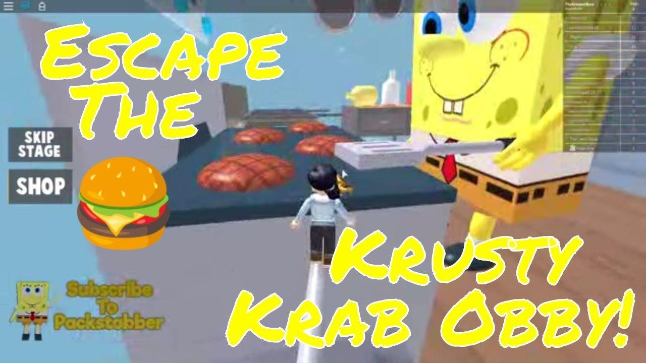 Escape The Krusty Krab Obby Roblox Com Games Escape