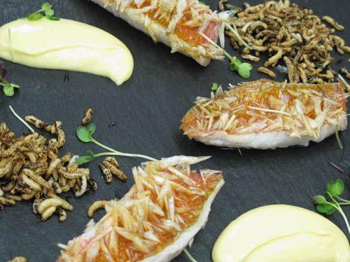 Recetas De Cocina De Martin Berasategui | Salmonete Con Escamas De Martin Berasategui 15 Pescado