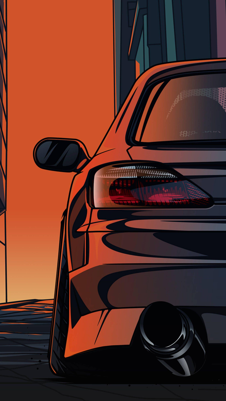 Nissan Silvia S15 シルビア S15 チューナーカー 車の壁紙
