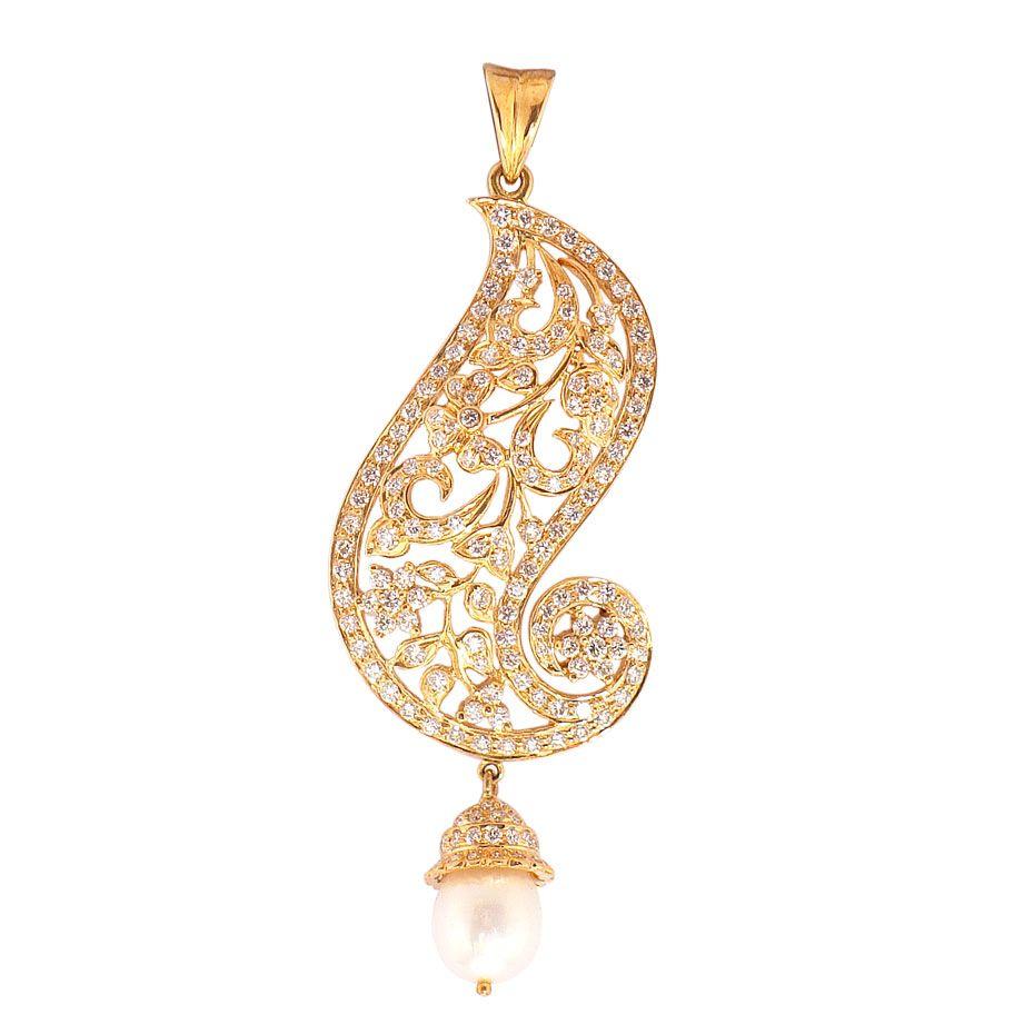 Prince jewellery diamond pendant product code b