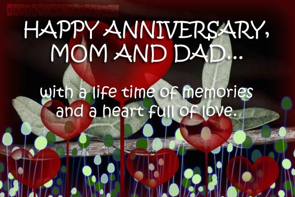 Anniversary Quotes Sayings Parents Mom And Dad Favimages Net