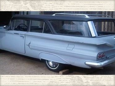 1960 Chevrolet Brookwood Wagon Purchase Used Rare 1960 Chevrolet