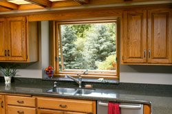 Having Easily Accessible Windows Over The Kitchen Sink Allows For Extra  Ventilation And Gives The Cook