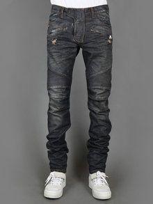 900394ef Balmain Biker Jeans | Dave's Fashion Board in 2019 | Ripped jeans ...