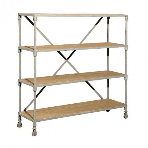 Wheeled Mercer Bookshelf
