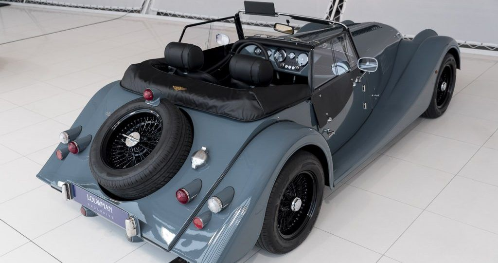 Export price Tax Free: € 53.950,- This unique Morgan Plus4 comes ...