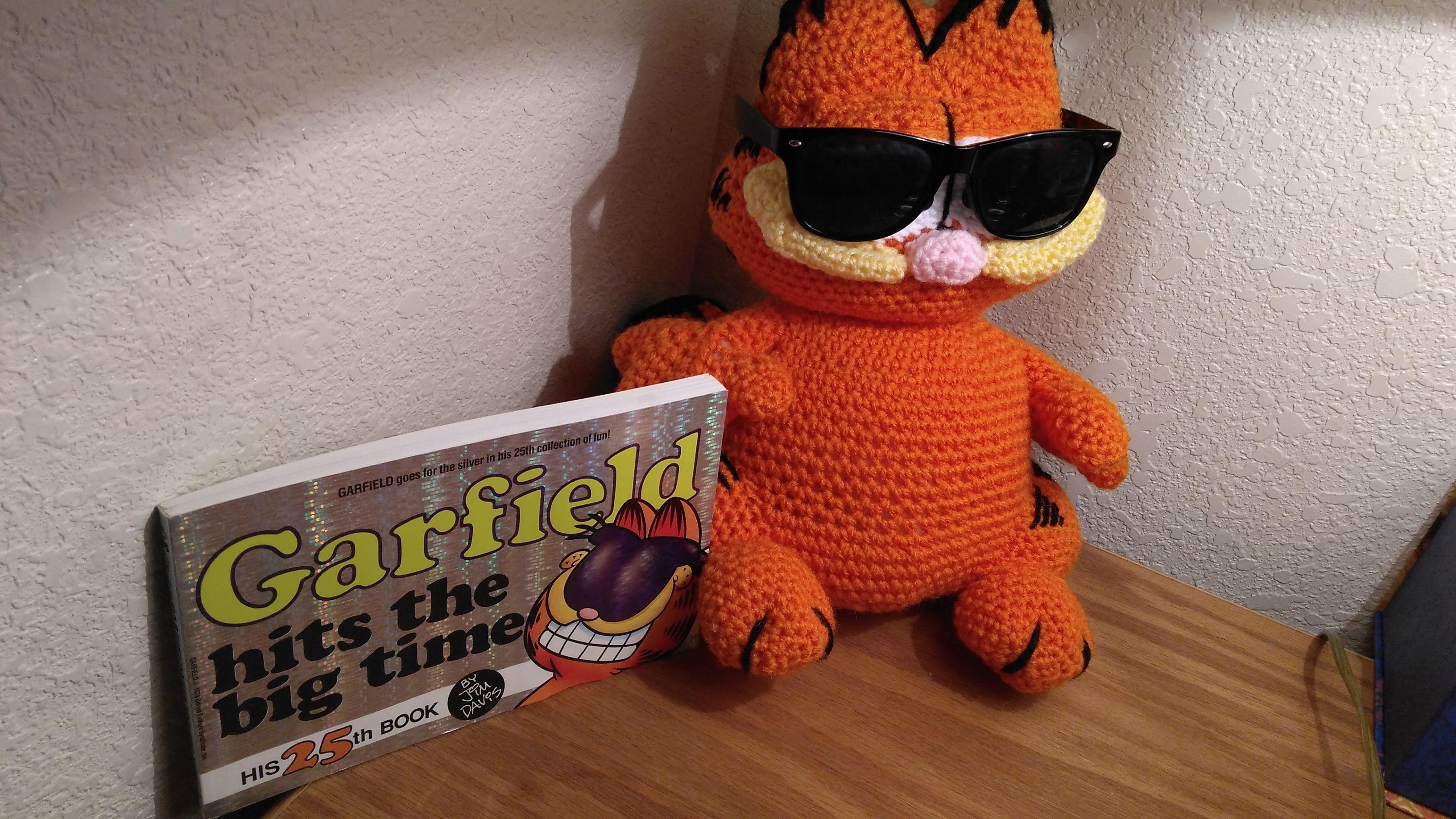 Amigurumi Crochet Garfield Patterns - Amigurumi Patterns Tutorials | 1836x3264