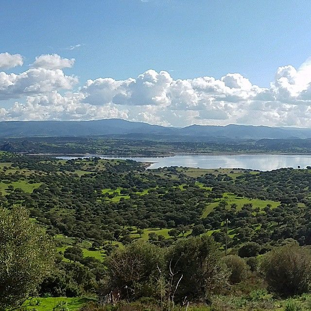 """#Sardegna #Sardinien #lake #Mediterranean #sky #clouds #cloudporn #landscape #nature"""