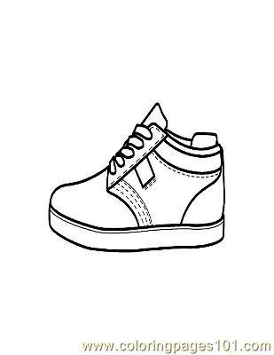 PageCipő DibujosPatrones És Moldes Shoe Coloring R4q5Aj3L